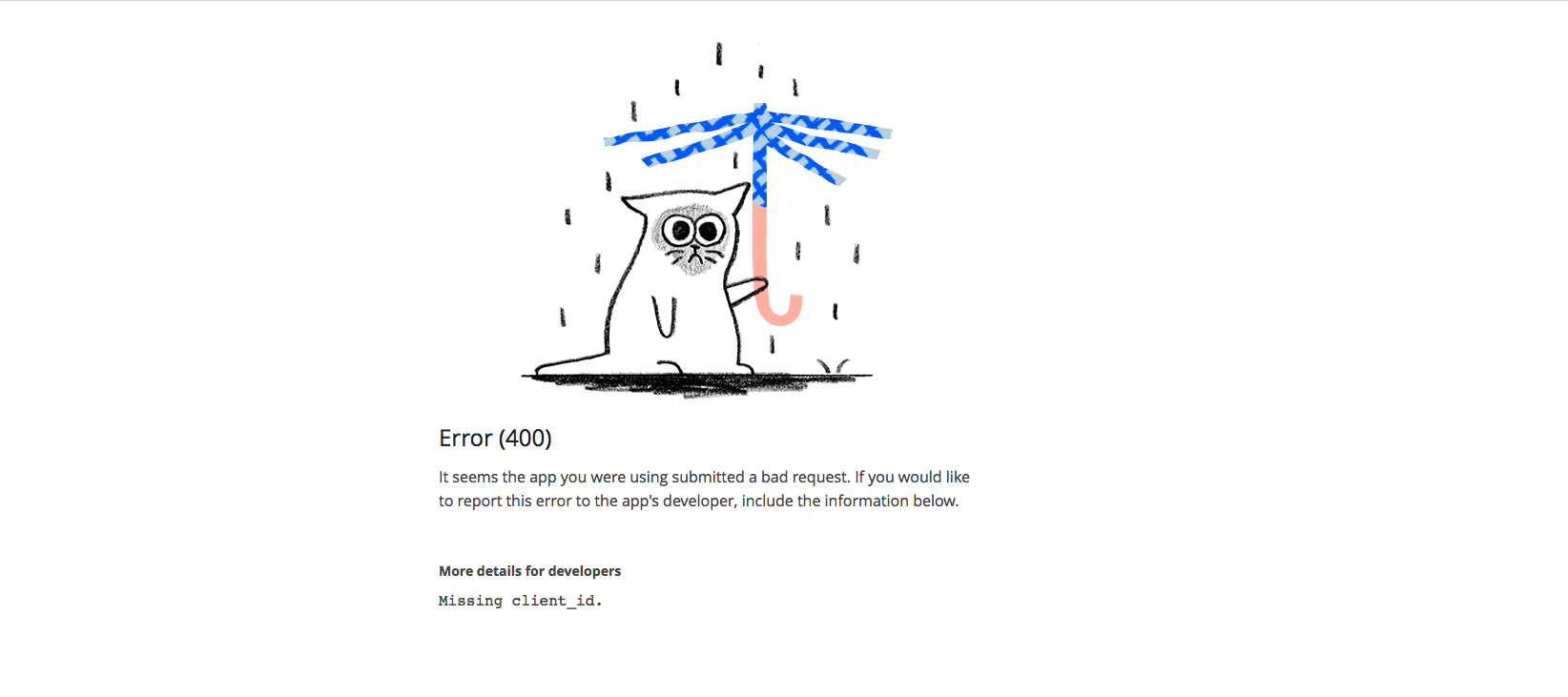 Dropbox wet cat error